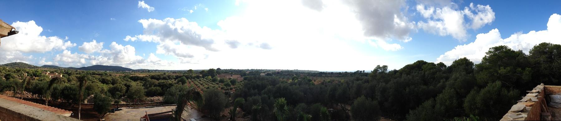 Himmel in Mallorca